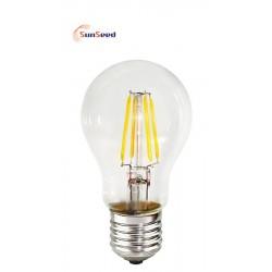 Lampada Goccia SunSeed 4W a Filamento LED E27 Luce Calda 2700K